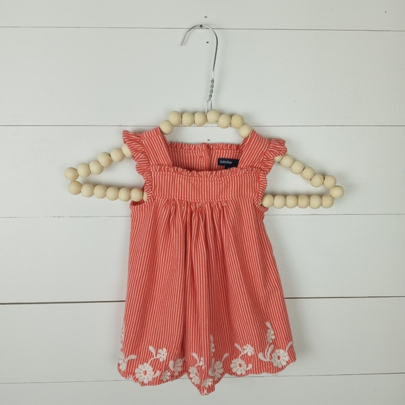 Baby Gap Girls size 3-6 mos embroidery dress